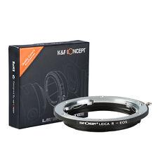 K&F Leica R lens to Canon EOS EF Mount 550D DSLR Camera Adapter Ring LEICA R-EOS