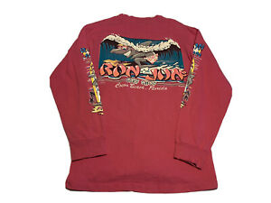 1989-RON-JON-WORLDS-LARGEST-SURF-SHOP-COCOA-BEACH-FLORIDA-Pink-Size-M