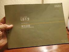 Okuma Lb12 Osp 500l G Electrical Drawing Japanese Amp American Nc Lathe