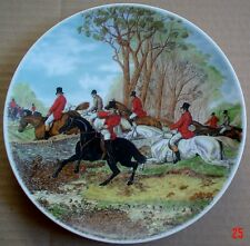 Bareuther Bavaria Germany Collectors Plate HUNTING SCENE