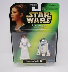 MOC! STAR WARS POWER OF THE FORCE COMMTECH R2-D2 WITH HOLOGRAPHIC LEIA