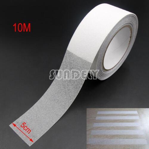 "2/"" Anti Slip Non Skid Tape Grip Self Adhesive Clear Stripe Safety Flooring 33/'"