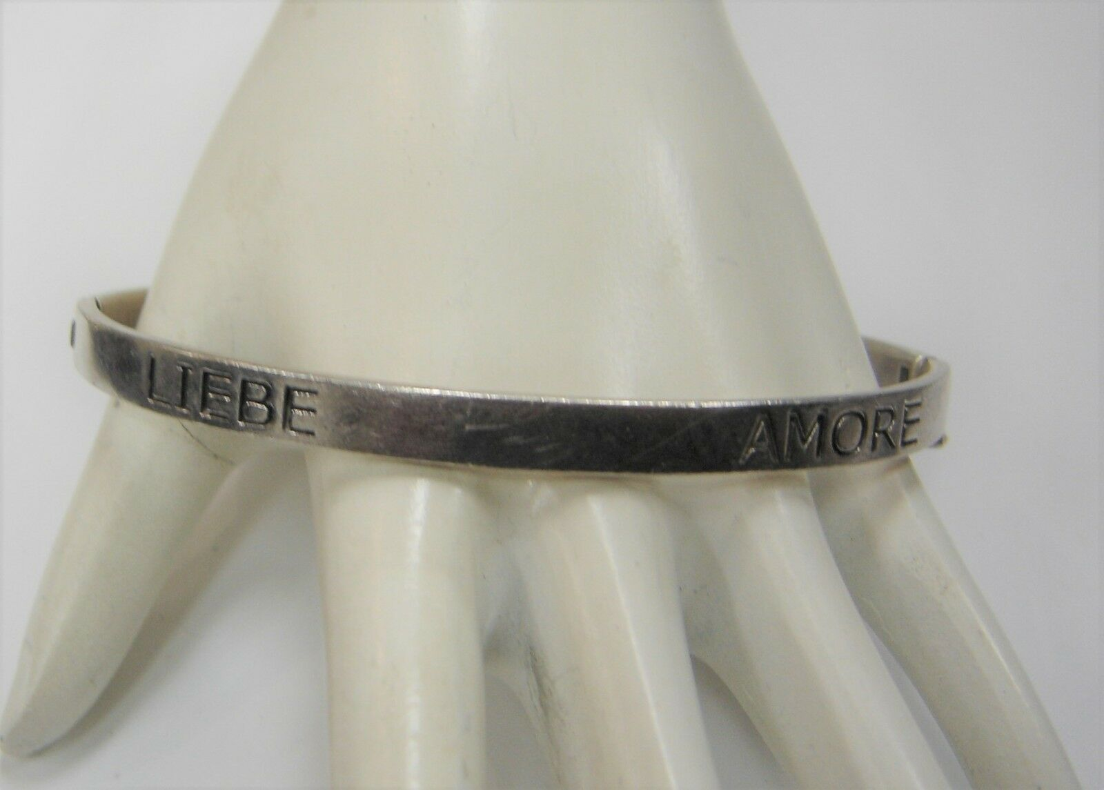 Carolee argentoo Sterling Bracciale Braccialetto Liebe Amore Love Amour Amour Amour Amor 472w 94e3f3