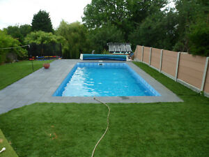 Details about SWIMMING POOL DIY SELF BUILD BLOCK & LINER POOL KIT 24 ft X  12 ft FLAT FLOOR