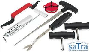 Jeu-d-039-outils-pour-demontage-de-pare-brise-vitres-et-joints-de-vitre-automobile
