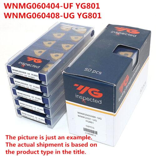 YG-1 10 x WNMG060408-UG YG801 WNMG332 CNC Turning Carbide inserts Replace VP15TF