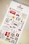 London UK holiday PVC Sticker BritainTravel Scrapbooking Card Diary Art CraftDIY