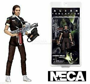 "7/"" Scale Series 6 Amanda Ripley Jump Suit Action Figure NECA Aliens New"