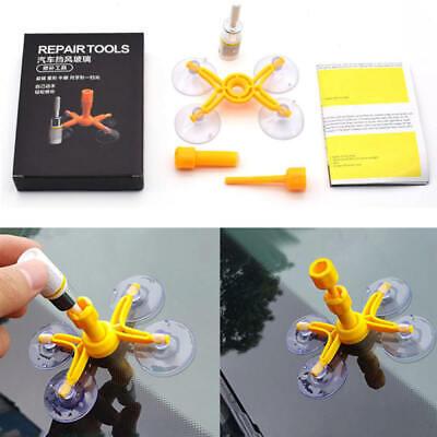 Windscreen Windshield Repair Tool DIY Car Kit Wind Glass For Chip Crack Fix zxc
