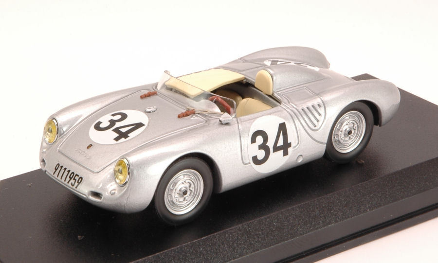 Porsche 550 Rs #34 Dnf Lm 1957 Storez / Crawford 1:43 Model BEST MODELS | Shopping Online  | Exquis (en) Exécution  | Discount  | Dernière Arrivée