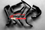 For-HOLDEN-COMMODORE-VY-V8-5-7L-LS1-2002-2004-Silicone-radiator-heater-hose-BLK thumbnail 1
