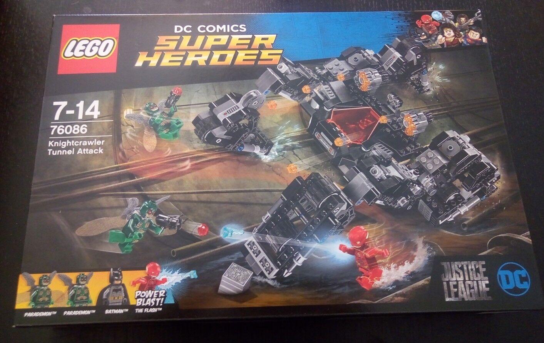 LEGO 76086 SUPER HEROES ATTACCO NEL TUNNEL KNIGHTCRAWLER BATMAN FLASH NUOVO