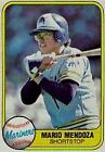 1981 Fleer Mario Mendoza #613 Baseball Card