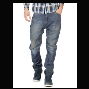 Hommes-Diesel-BLK-Gold-Pant-H-L-A-P-0887b-Urban-facile-Slim-Tapered-Jean-Taille-W30-L30