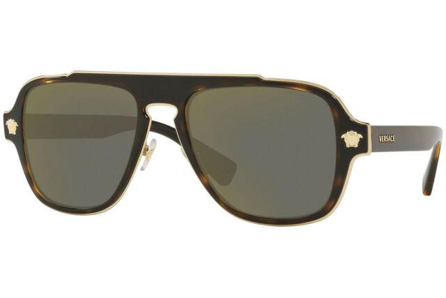 Versace Men VE2199 56 Sunglasses 56mm