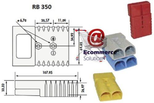 PRISE CONNECTEUR ROUGE 24V SB RB 350 RB350 SB350 BATTERIE CHARGEUR CHARIOT