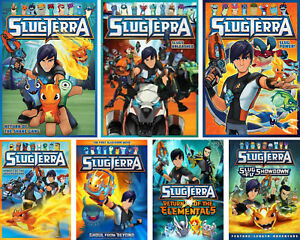 Details About Slugterra Tv Series 7 Complete Collections Movies Brand New Dvd Bundle Set