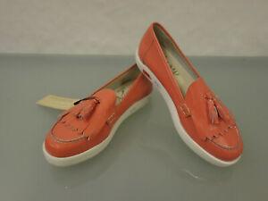 219-NEU-SUSY-Vernice-Salmone-Lackleder-Slipper-Gr-37-5-Shoes-Schuhe-Quaste-Lachs