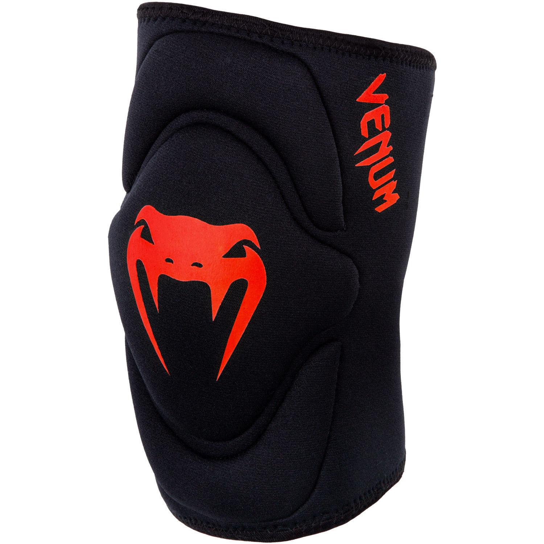 Venum Kontact MMA Gel Knee Pads Pair Martial Arts Support Injury BJJ Red