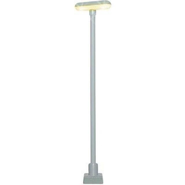 Viessmann H0 63641 Lámpara de Plataforma con 2 LED Blanco y Zócalo Conexión