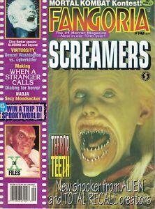 1995 Fangoria Horror #146 Screamers X Files Virtuosity Lord of Illusions Xtro 3 - Wien, Österreich - 1995 Fangoria Horror #146 Screamers X Files Virtuosity Lord of Illusions Xtro 3 - Wien, Österreich