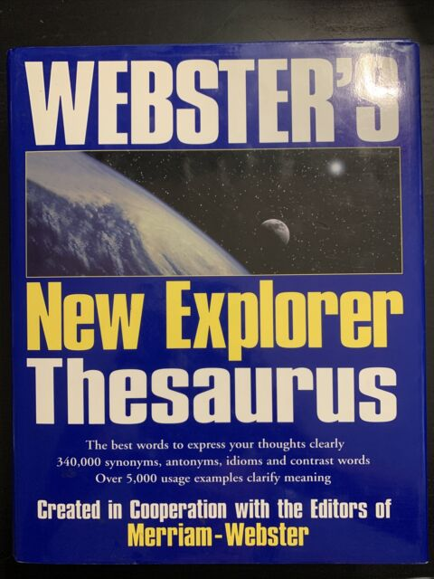 Webster's New Explorer Dictionary by Inc. Staff Merriam-Webster (Hardcover)