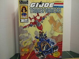 G.i.joe Transformers Comic Con Ensemble Crossover Exclusif Scarlet Vs Zartan 630509474745