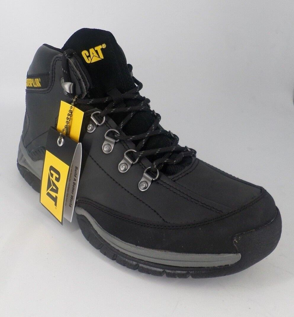 CAT Collateral Hiker Mens Hiking shoes Boots Wide-Fit NH08 52 SALEx
