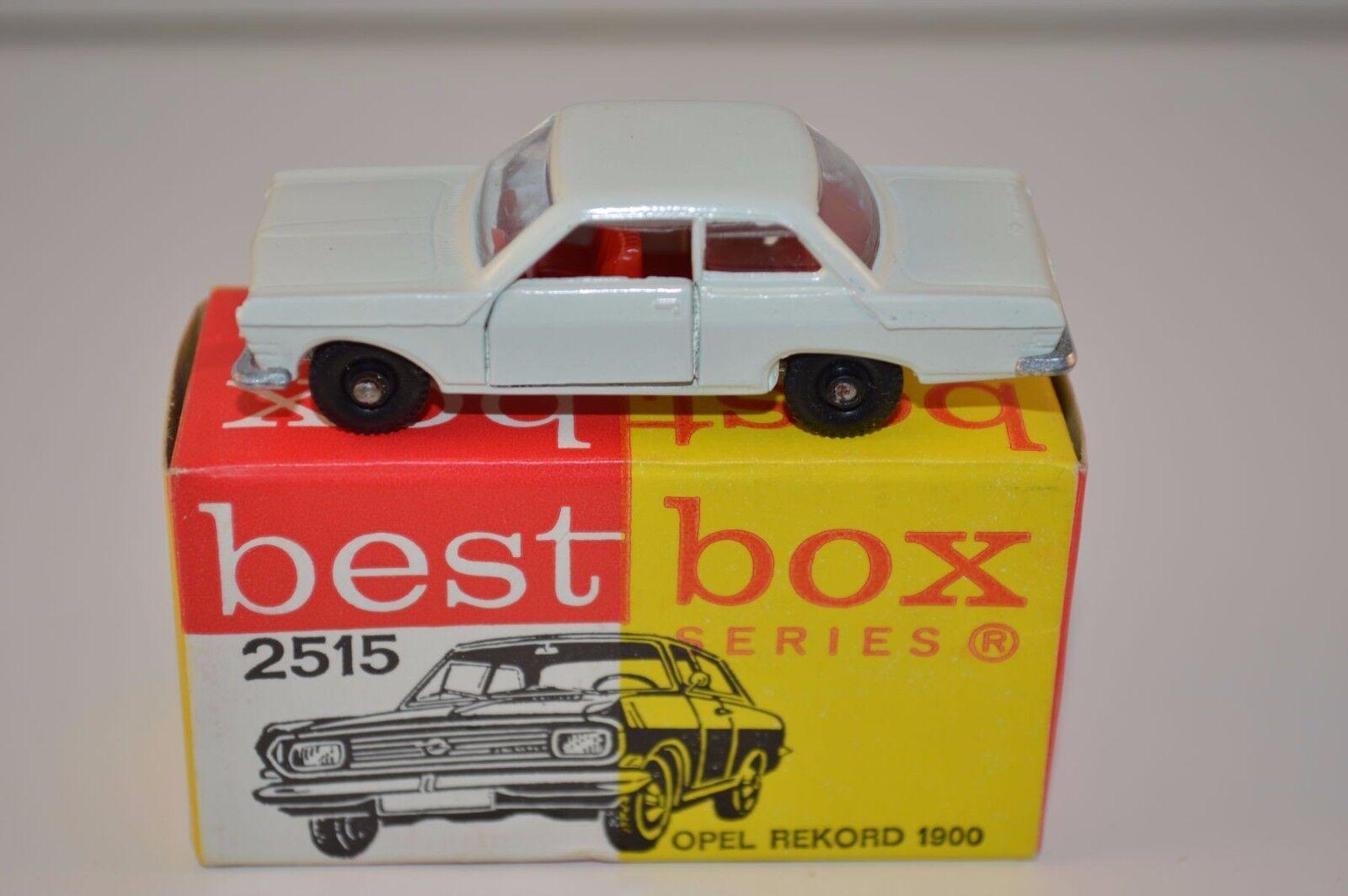 hasta un 70% de descuento Bestbox Bestbox Bestbox Best Box 2515 Opel Rekord perfect mint in box súper model  Nuevos productos de artículos novedosos.