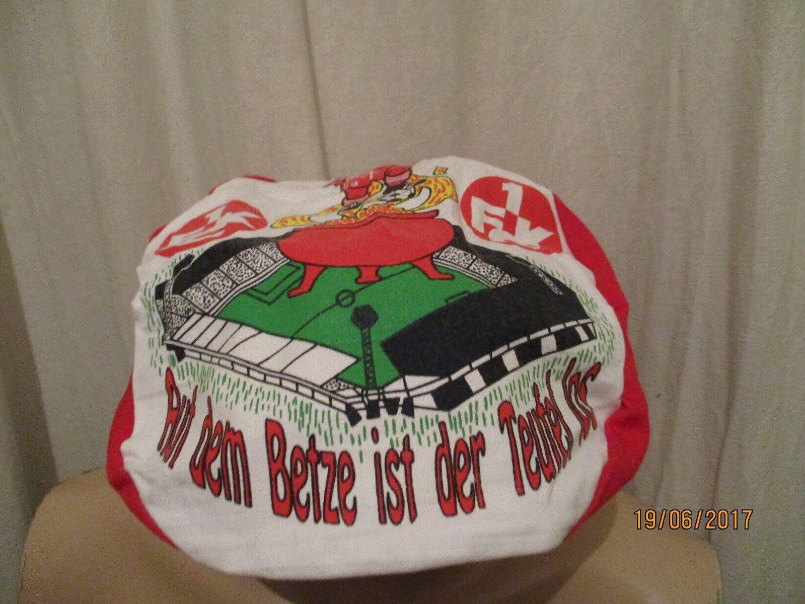 1.FC Kaiserslautern Original Franzosen Ballon Cap Cap Cap  Auf dem Betze ist der Teufel  620a8e