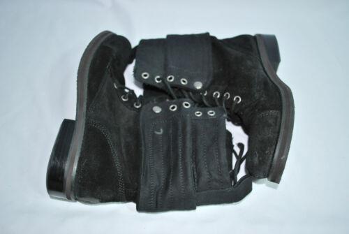 Nine West Lace Up Boots black 7.5 M