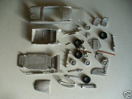 MGB Roadster Mk1   1 43rd scale white metal kit  by K & R Replicas
