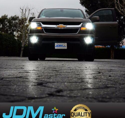 JDM ASTAR 2x PS24W 5202 5201 CSP LED Fog DRL Driving Lights Bulb Xenon White