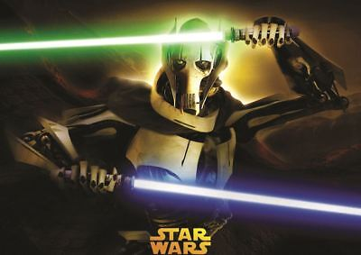 Star Wars Revenge Of The Sith Lord General Grievous Poster Art Print Gz1845 Ebay