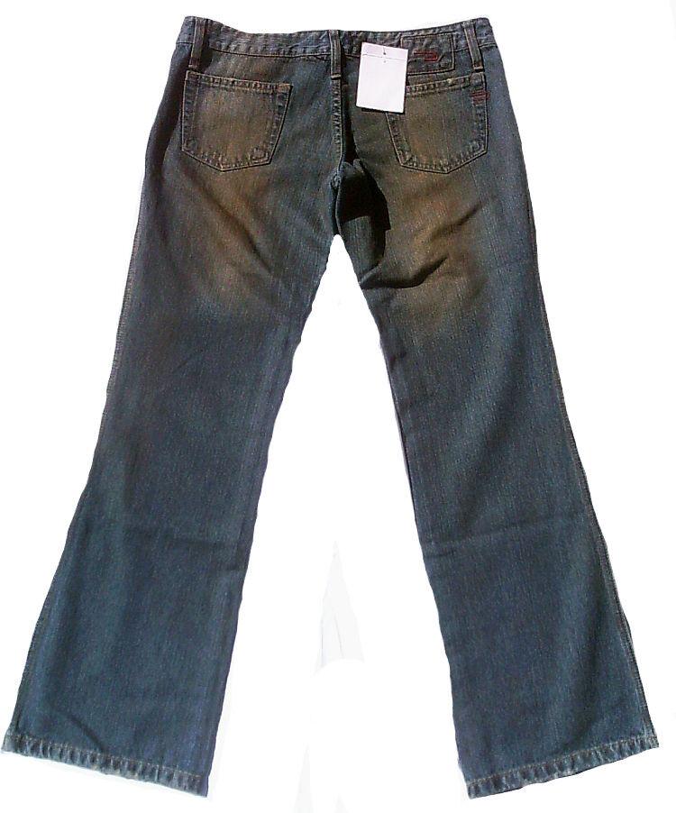 Rockige Rockige Rockige Dirty Wash Stonewash Lady 70'Er Giappone Stile Borse Anteriore Jeans 4287fb