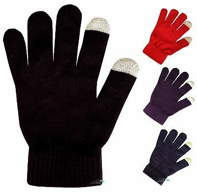 Childrens Touch Screen Gloves Boys Girls Kids One Size for Smartphones & Tablets