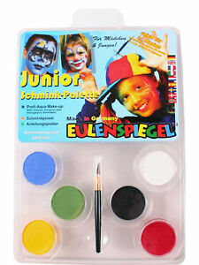 Junior Schmink Palette Karneval Schminke Make Up Schminkpalette