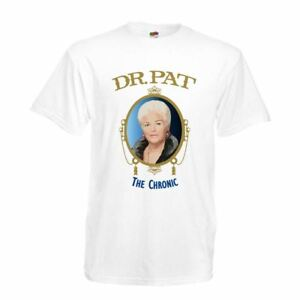 Mens-white-Pat-Butcher-Dr-Dre-The-Chronic-T-shirt-420-stoner
