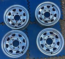 Nissan Pickup Truck Hardbody Chrome Steel Wheels 14x6 Oem 14 62269 Rims 14 D21