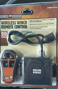 Details about BADLAND WINCHES WIRELESS WINCH REMOTE CONTROL 61474 NEW  792363614740
