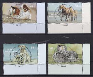 BRD-2007-gestempelt-ESST-Berlin-MiNr-2630-2633-Haustiere