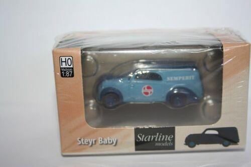 """Brekina 58325-1//87 Steyr Baby /""""SEMPERIT/"""" de StarLine-nuevo"""