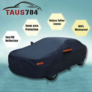 Full Car Cover Fit for Ford Mustang 65-14 Outdoor Waterproof UV Rain Resistant