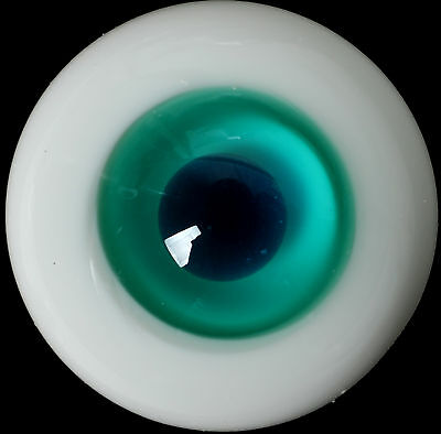 Deep Gray ris/&Black Pupil Eyes for Reborn//Newborn BJD Doll Good  18mm Glass