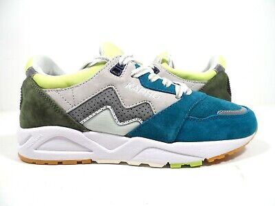 Karhu Men/'s Aria Suede Sneaker Daphne// Lunar Rock Size 10