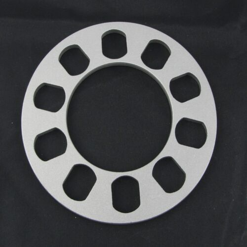 "0.25/"" Inch 5x4.5 5x115 Flat Wheel Spacers5x114.3 Small Outside Diameter 2"