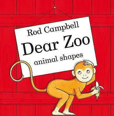 Dear Zoo Animal Shapes by Campbell, Rod, Acceptable Book (Board book) FREE & Fas