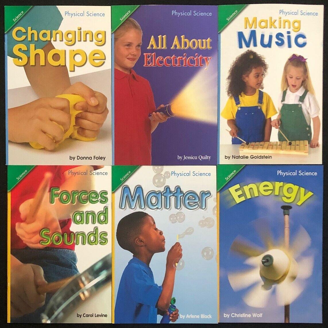 1st Grade PHYSICAL SCIENCE Curriculum Readers (6 books) Teacher/Homeschool/Tutor 2