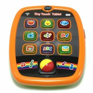 VTech-Tiny-Touch-Tablet-Children-039-s-Learning-Activity-Toy-Lights-Music-Sound