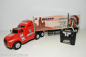 WADER-PETERBILT-MACK-TRUCK-WITH-TRAILER-POWERFULL-FAST-EXCELLENT-CONDITION